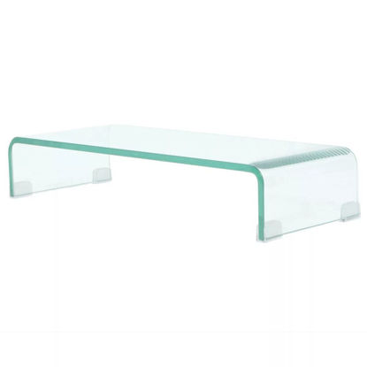 "Picture of Monitor Riser/TV Stand 23"" - Glass Clear"