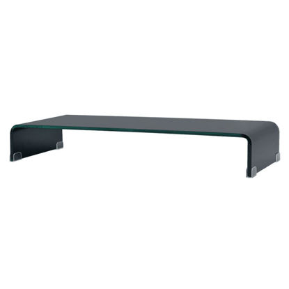 "Picture of Monitor Riser/TV Stand 35"" - Glass Black"