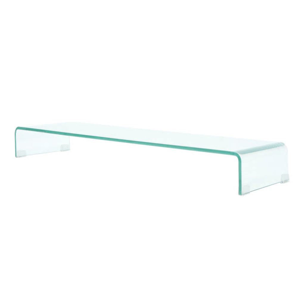 "Picture of Monitor Riser/TV Stand 39"" - Glass Clear"