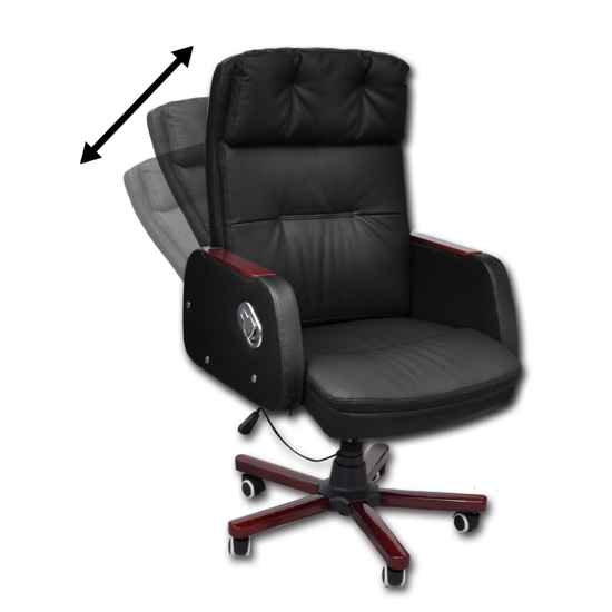 Picture of Office Chair Recliner Adjustable - Black
