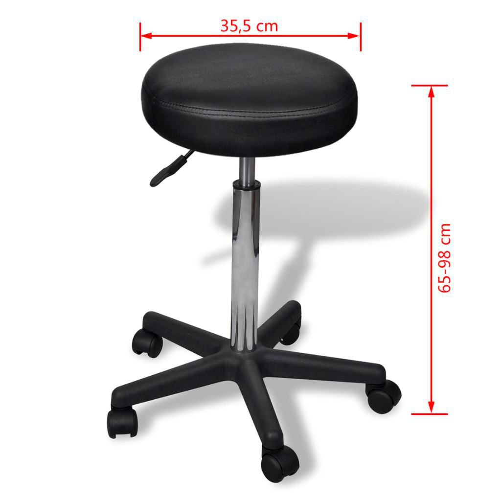 Picture of Office Stool - Black