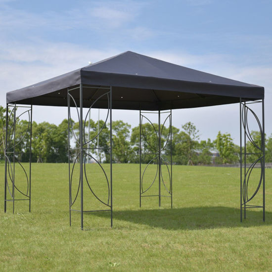 Picture of Outdoor 10' x 10' Tent Gazebo - Gray Cover