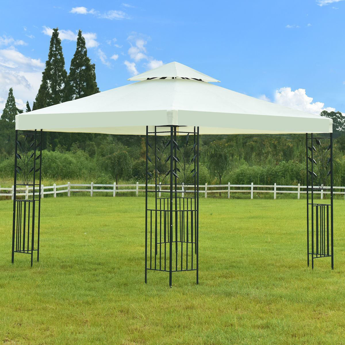 """Picture of Outdoor 10' x 10"""" Tent Gazebo"""