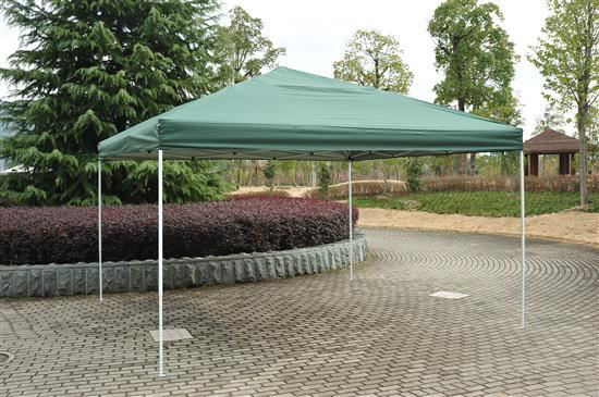 Picture of Outdoor 13' x 13' Easy Pop Up Canopy Party Tent - Green
