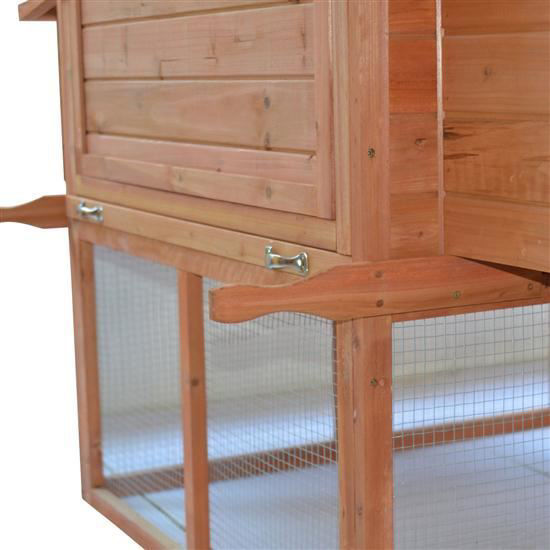 """Picture of Outdoor 144"""" Chicken Coop Hen House with Long Run"""