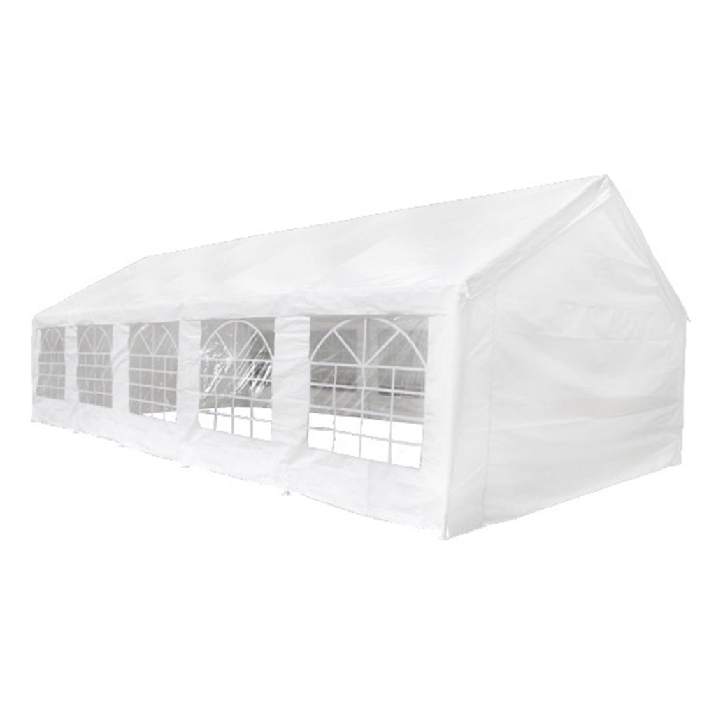 Picture of Outdoor 32' x 16' Canopy Gazebo Party Tent with 12 Removable Walls - White