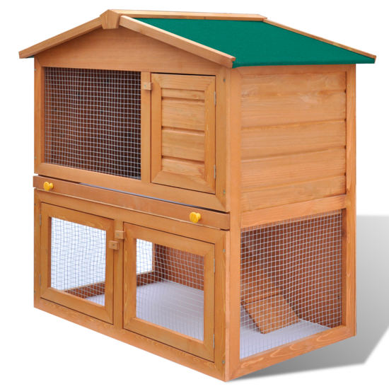 "Picture of Outdoor 36"" Wooden Chicken Coop"
