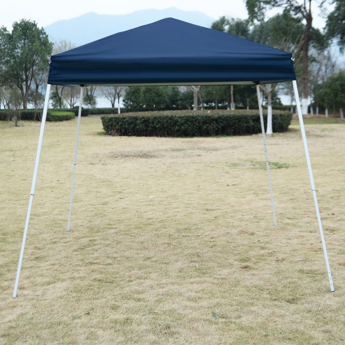 Picture of Outdoor 8'x8' EZ Pop Up Tent Gazebo with Carry Bag - Blue