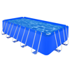 "Picture of Outdoor Above Ground Swimming Pool Steel Rectangular 17' 9"" x 8' 10"" x 4'"