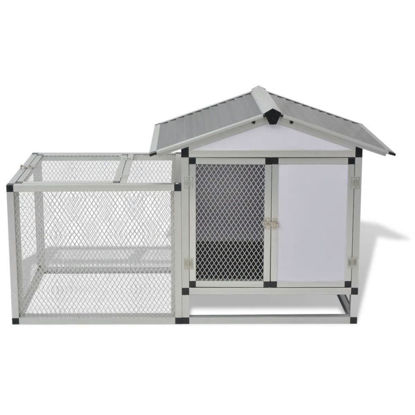 "Picture of Outdoor Aluminum 62"" Chicken Coop"