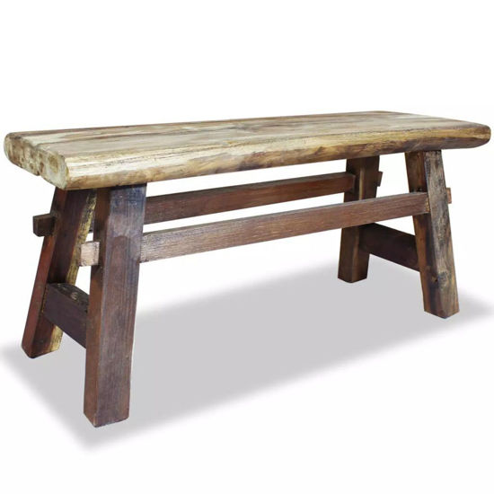 Picture of Outdoor Bench - Reclaimed Wood