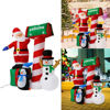 Picture of Outdoor Christmas Inflatable Santa Claus Snowman - 5Ft