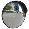 "Picture of Outdoor Convex Traffic Mirror PC Plastic 12"" - Black"