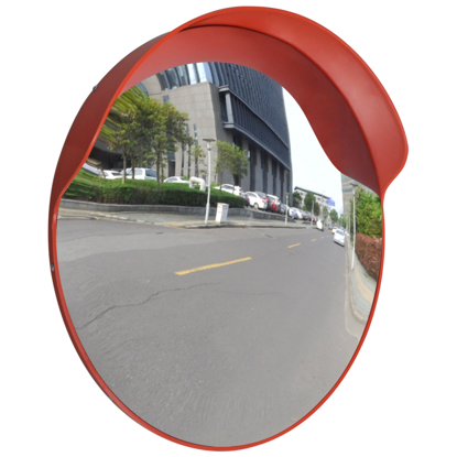 "Picture of Outdoor Convex Traffic Mirror PC Plastic 24"" - Orange"