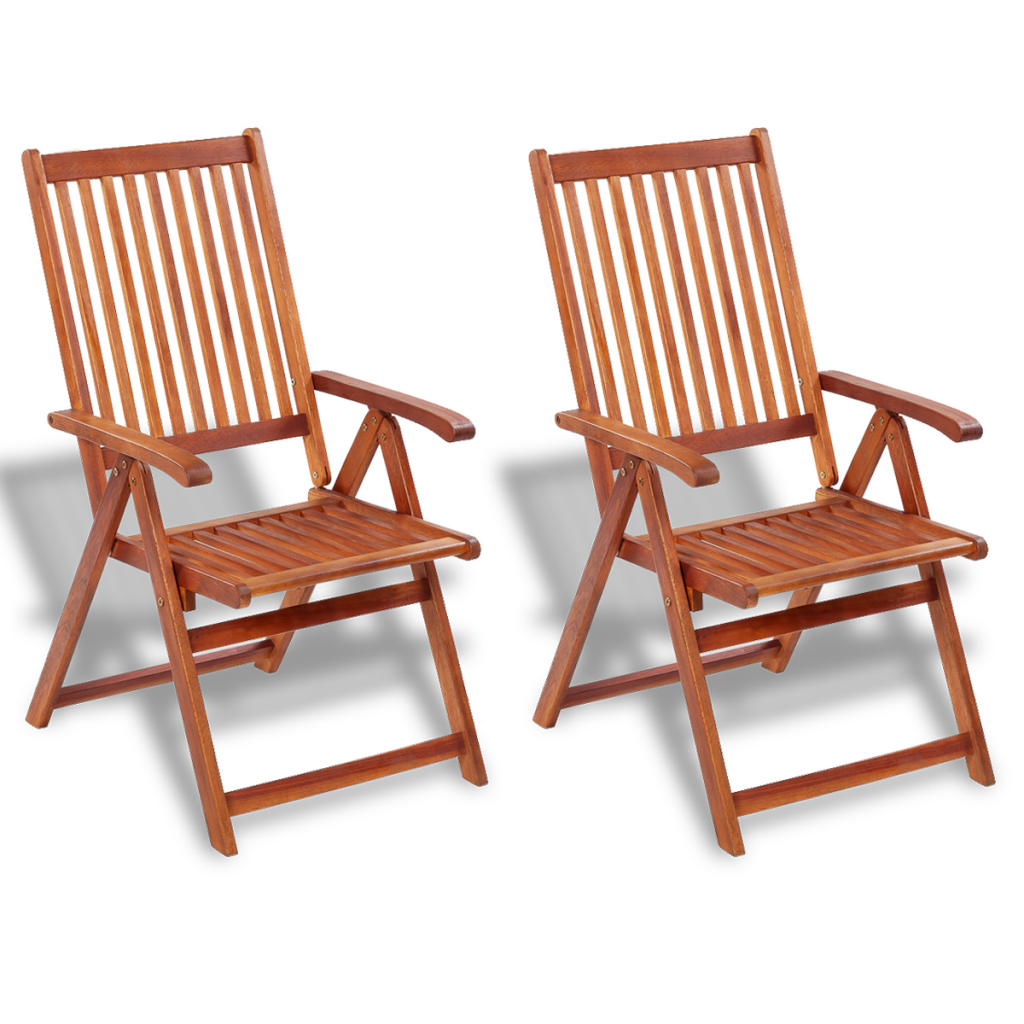 Picture of Outdoor Dining Chair 2 pcs Acacia Wood