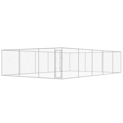 Picture of Outdoor Dog Kennel Galvanized Steel 32x19