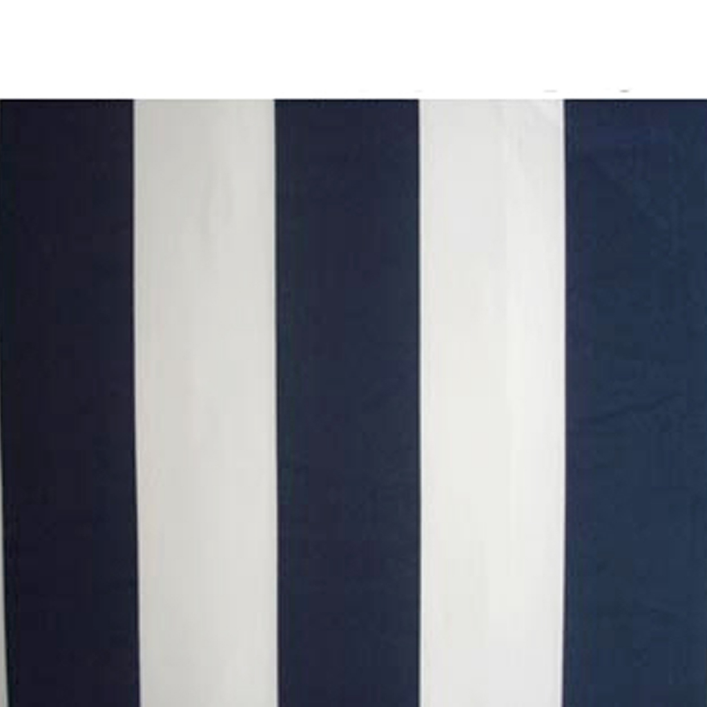 Picture of Outdoor Folding Awning 10' x 8' - Navy Blue & White