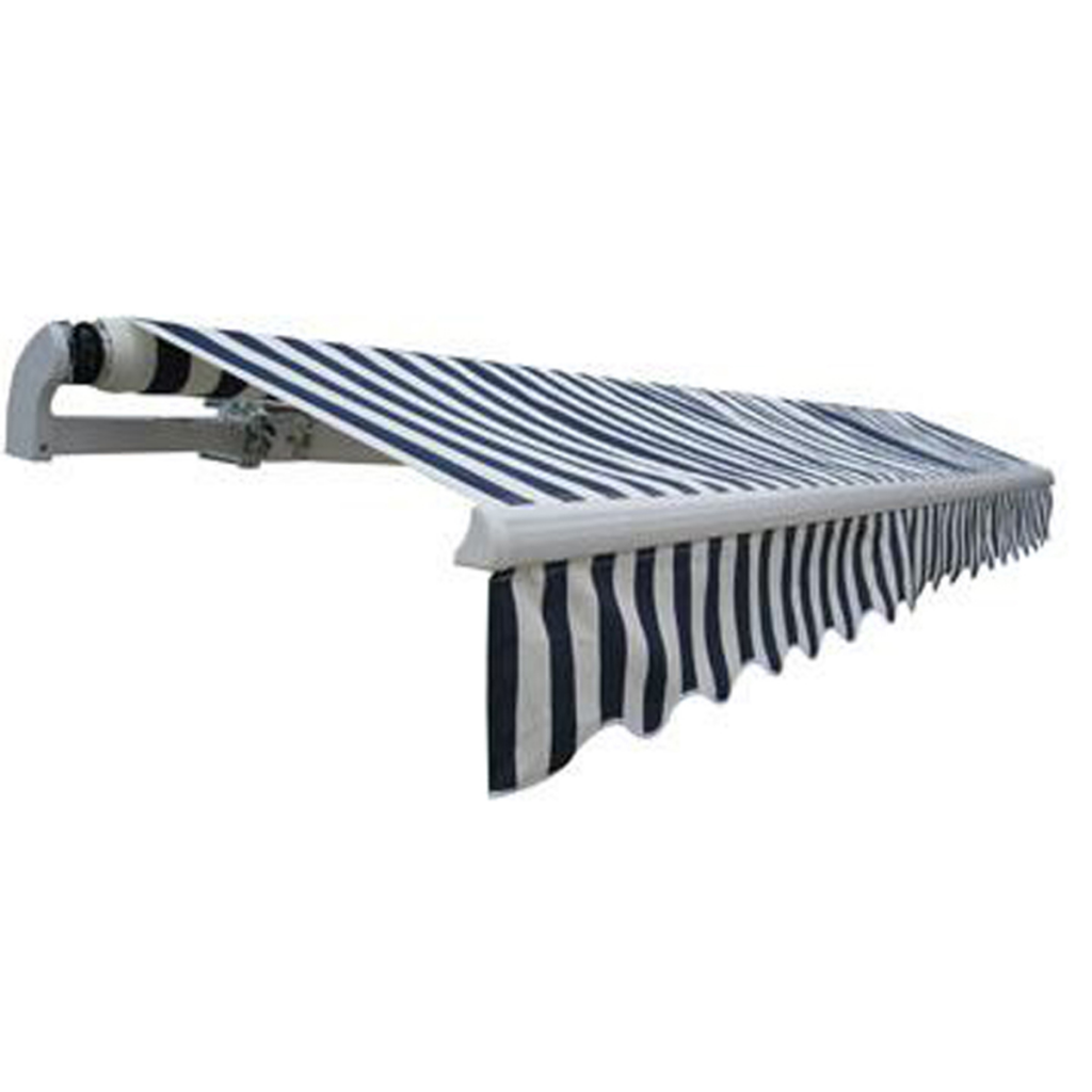 Picture of Outdoor Folding Awning 13' x 10' - Navy Blue & White