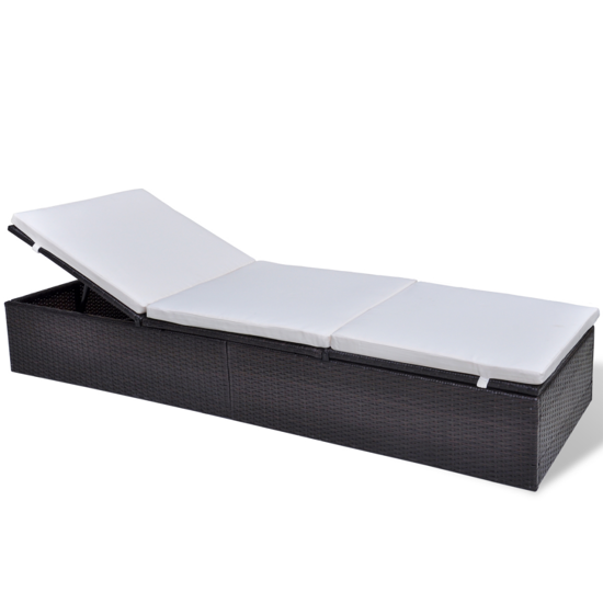 Picture of Outdoor Lounger Bed - Brown