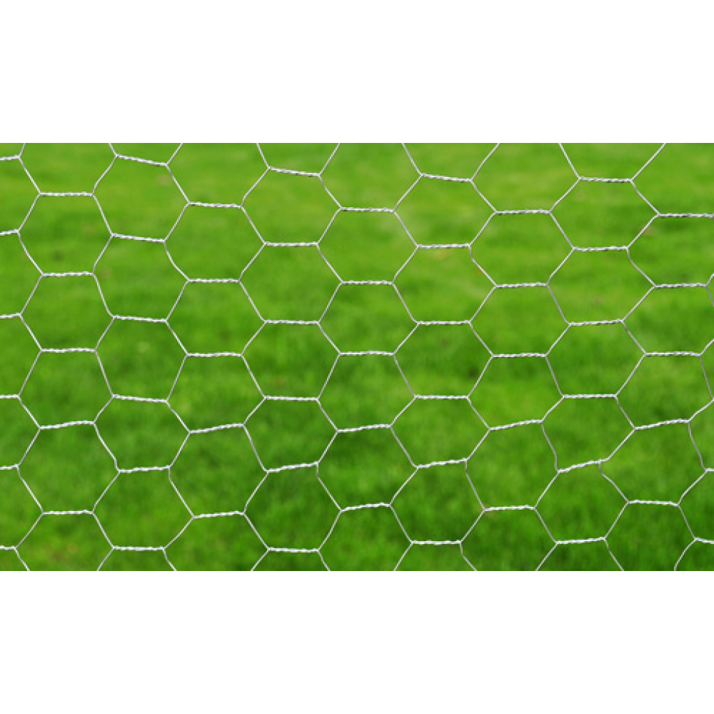 "Picture of Outdoor Garden Hexagonal Wire Netting 2' 5"" x 82' Galvanized Mesh - Size 2"""