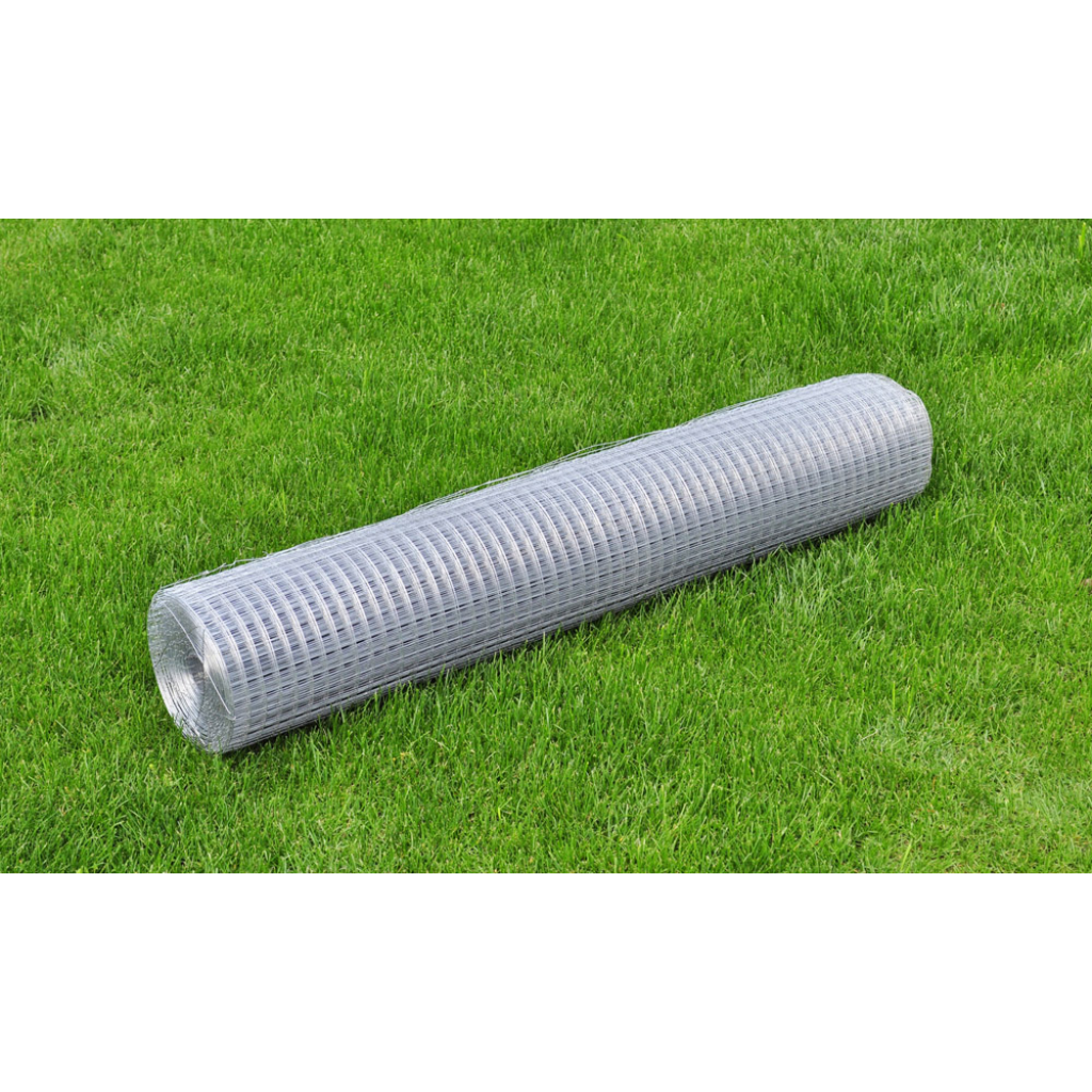 """Picture of Outdoor Garden Square Wire Netting 3' 3"""" x 32' 8"""" Galvanized Thickness - 0.03"""""""