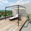 Picture of Outdoor Patio Awning Sun Shade Canopy Wall Gazebo