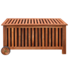 """Picture of Outdoor Patio Cushion Wood Box 46"""""""