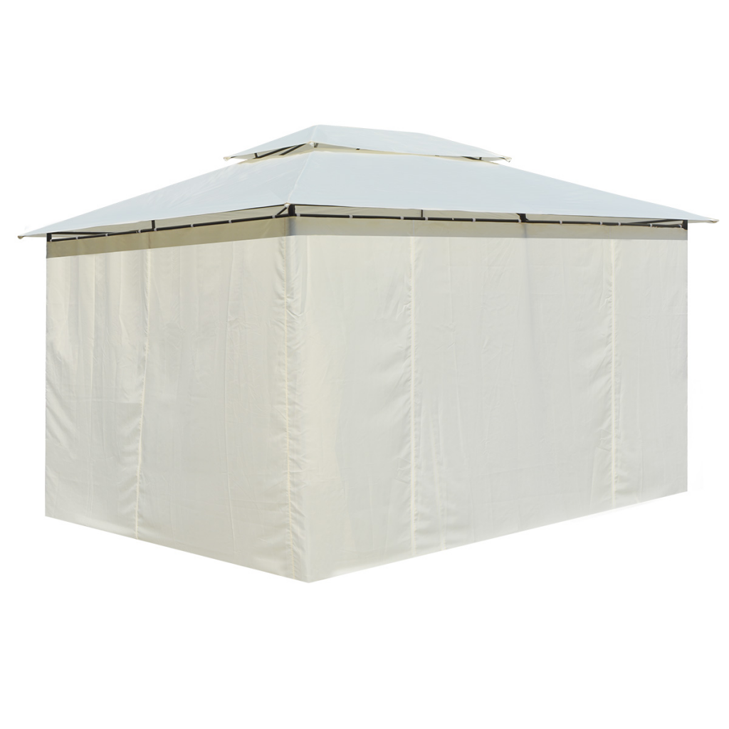 Picture of Outdoor Patio Gazebo with Curtains 13'x10'