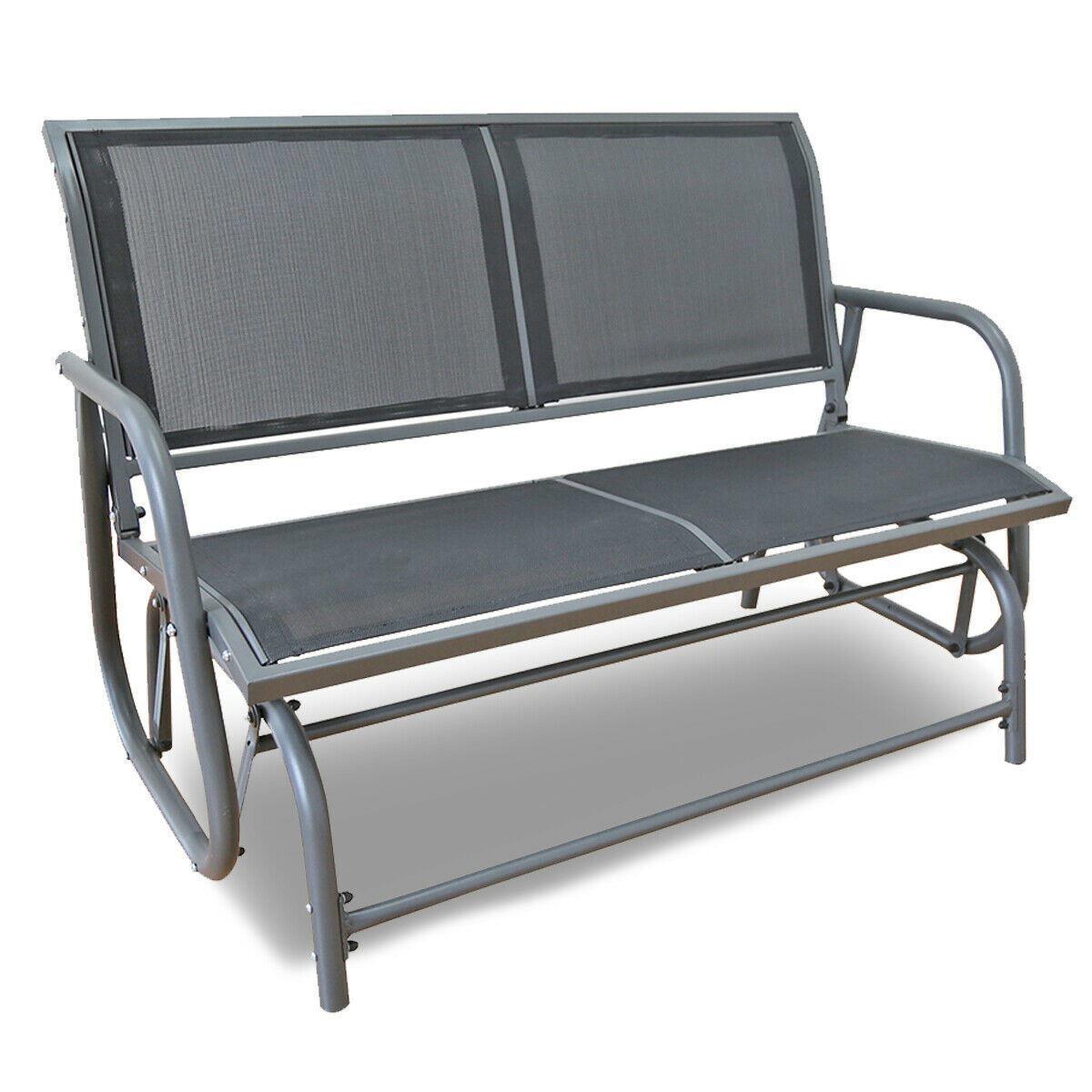 Picture of Outdoor Swing Bench - Dark Gray