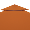 Picture of Outdoor Waterproof 10' x 13' Gazebo Cover Canopy - Terracotta