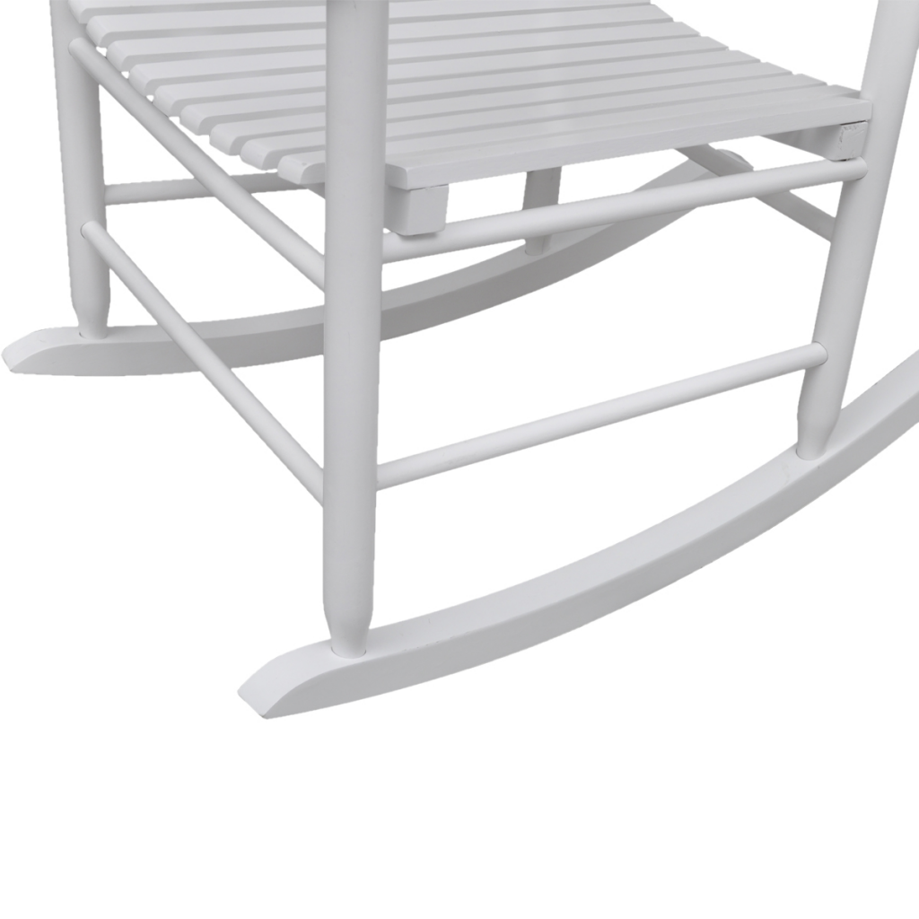 Picture of Outdoor Wood Rocking Chair - White