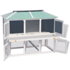 Picture of Outdoor Wooden Double Animal Cage