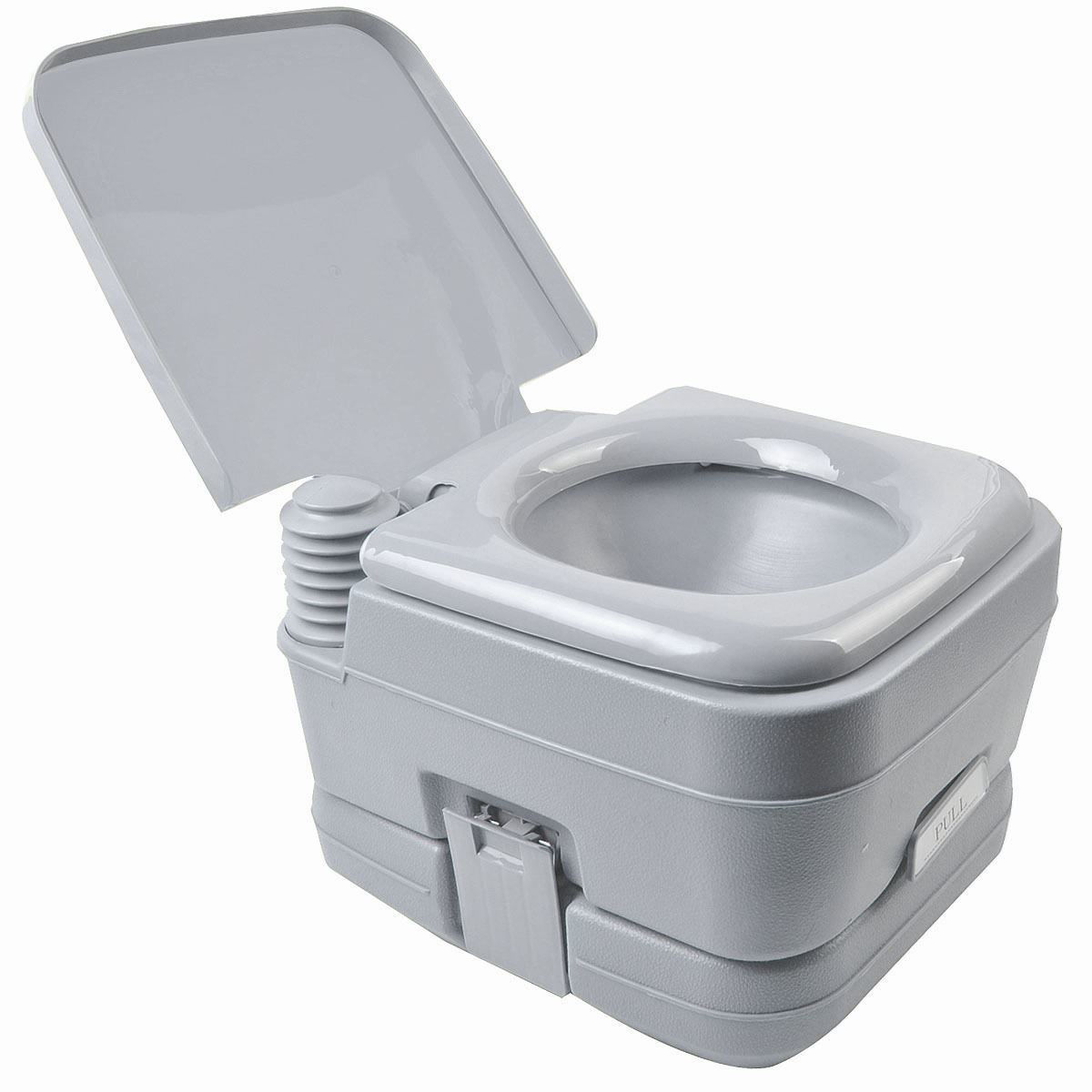 Picture of Outdoor/Indoor Portable Camping Toilet 2.8 Gallon 10L