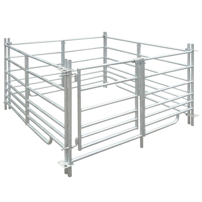 """Picture of Pet Animal Cage Pen 4-Panel Sheep  Galvanized Steel 53"""""""
