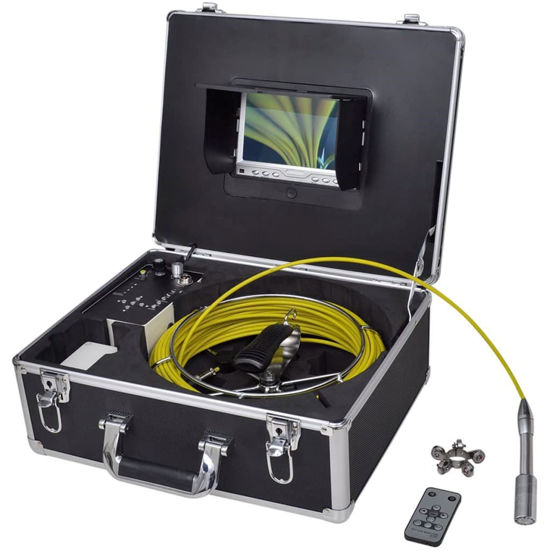 Picture of Pipe Inspection Camera with DVR Control Box 98.4 Wire