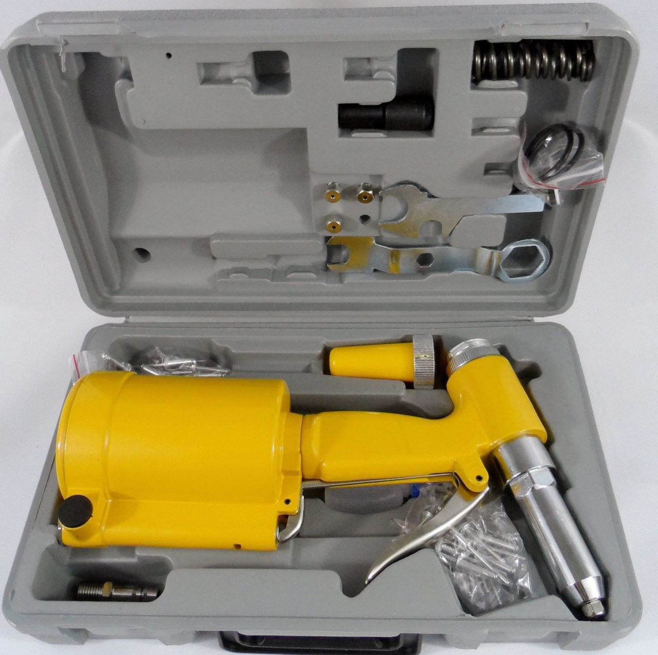 Picture of Pneumatic Air Hydraulic Pop Rivet Gun Riveter Riveting Tool with Case