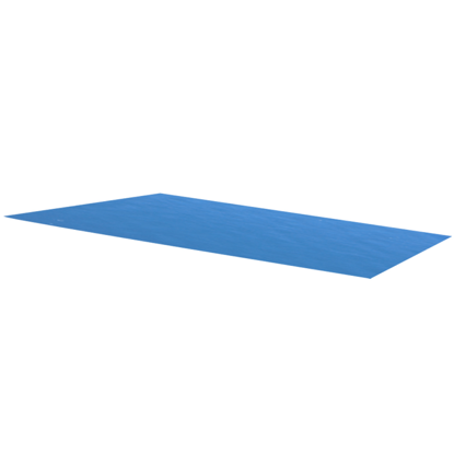 Picture of Pool Cover Rectangular 102 x 63 inch PE - Blue