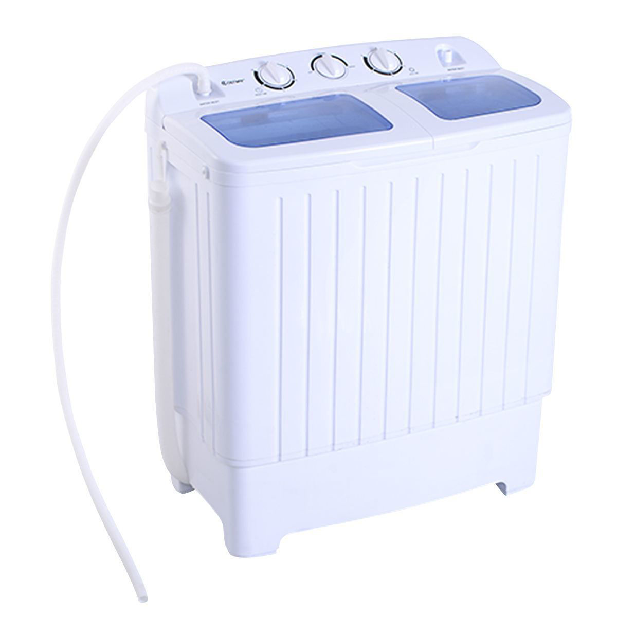 Picture of Portable Mini Compact Washer Machine Washer Spin Dryer Twin Tub 11lb