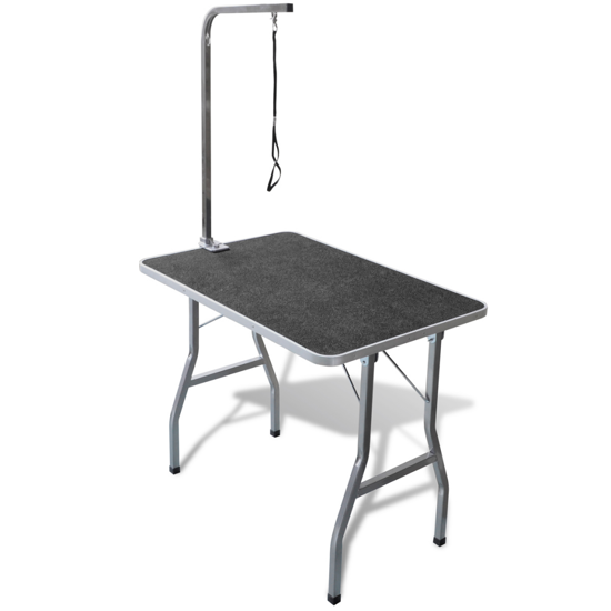 Picture of Portable Pet Dog Grooming Table with Castors
