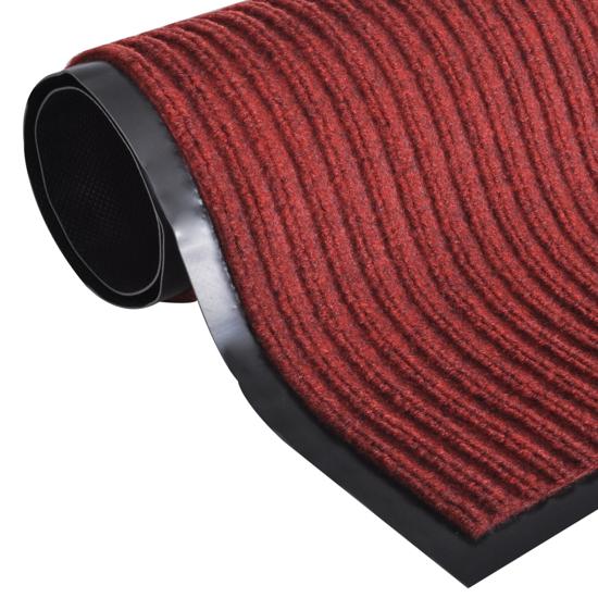 """Picture of PVC Door Mat 3' 9"""" x 5' 9"""" - Red"""