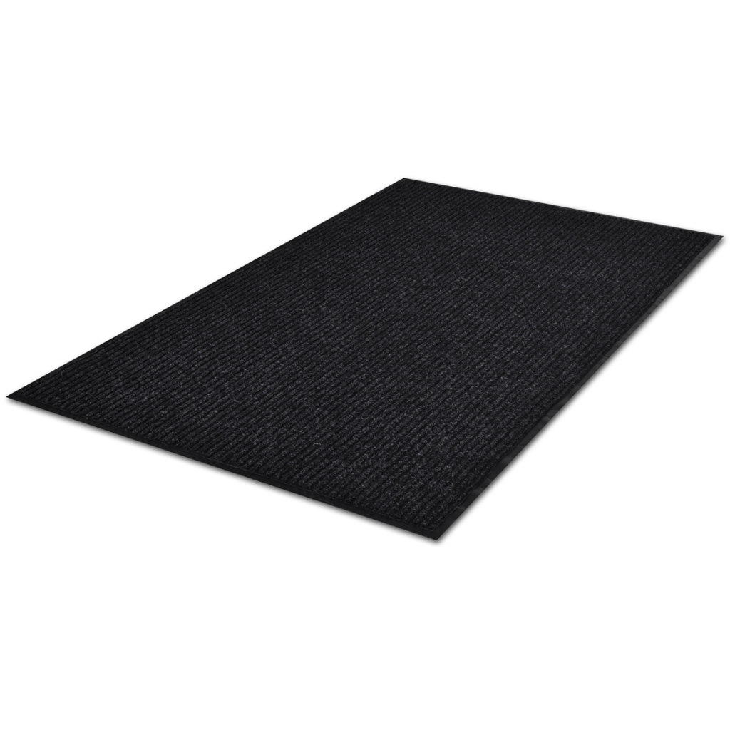 "Picture of PVC Door Mat 47"" x 71"" - Black"