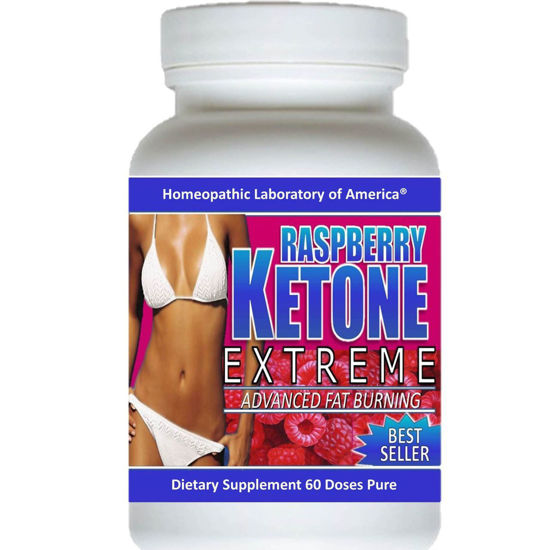 Picture of Raspberry Keton Weight Loss Diet Fat Burner - 1200 mg