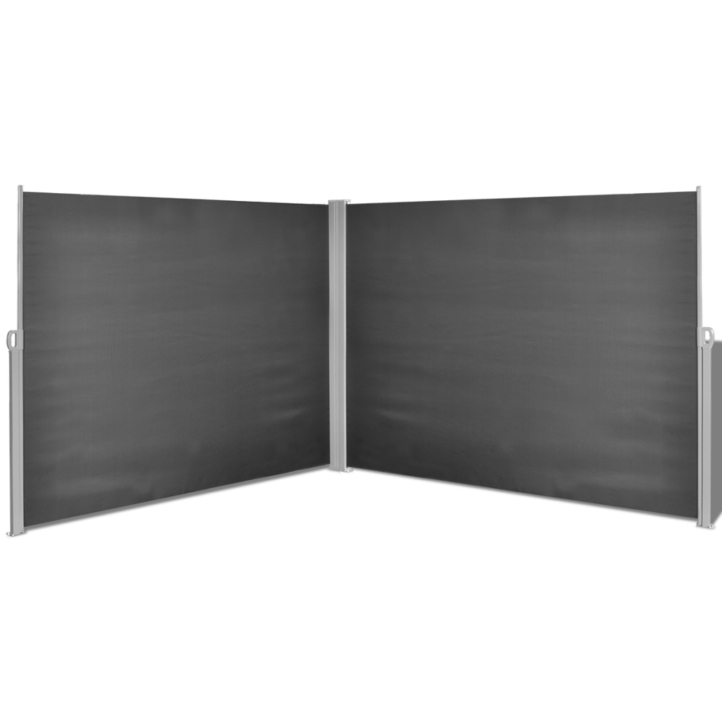 """Picture of Retractable Side Awning 71""""x236"""" Black"""