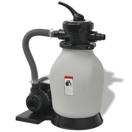 Picture of Sand Filter with Pool Pump 0.35 HP 2694 GPH