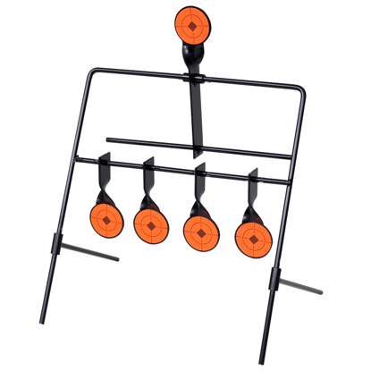 Picture of Shooting Target Auto Reset Spinner with 4 + 1 Targets