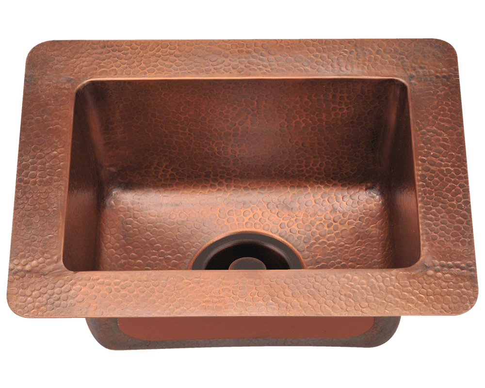 Picture of Small Single Bowl Copper Sink