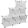 """Picture of Storage Cube Organizer with 6 Compartments 43"""" - White"""