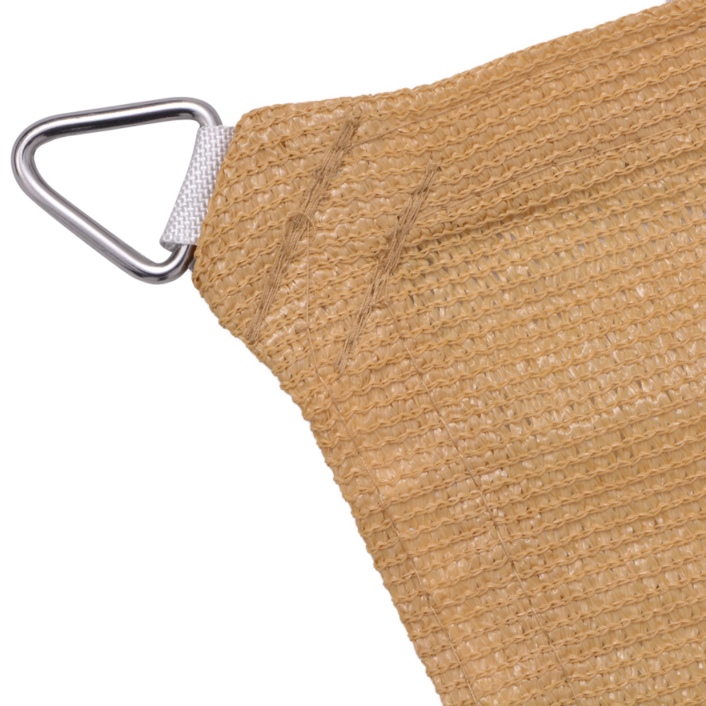 Picture of Sunshade Sail HDPE Rectangular 13.1'x19.7' Beige