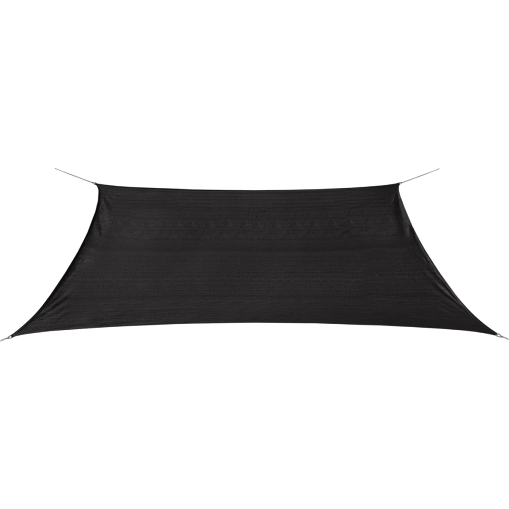 Picture of Sunshade Sail HDPE Rectangular 6.6'x13.1' Anthracite