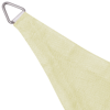 Picture of Sunshade Sail HDPE Triangular 11.8'x11.8'x11.8' Cream